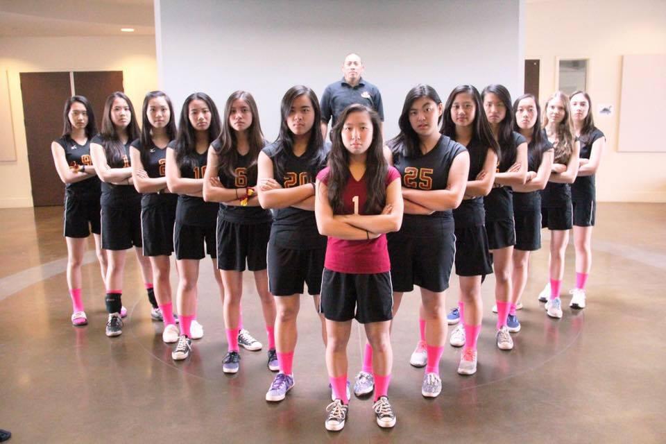 Varsity Girls Volleyball Playoff Bound!