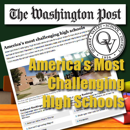 CCHS Ranks High In The Washington Post
