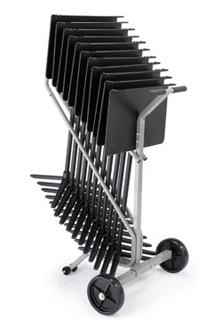 Music stand cart