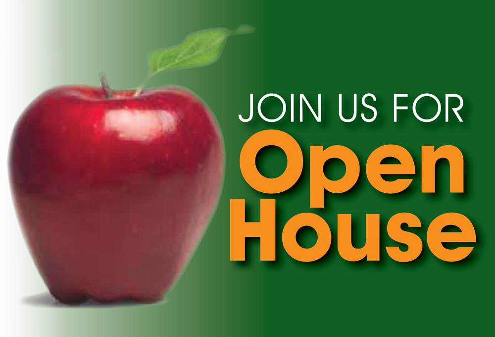 OPEN HOUSE Is Here!  Sat. Feb. 4, 10am-2pm