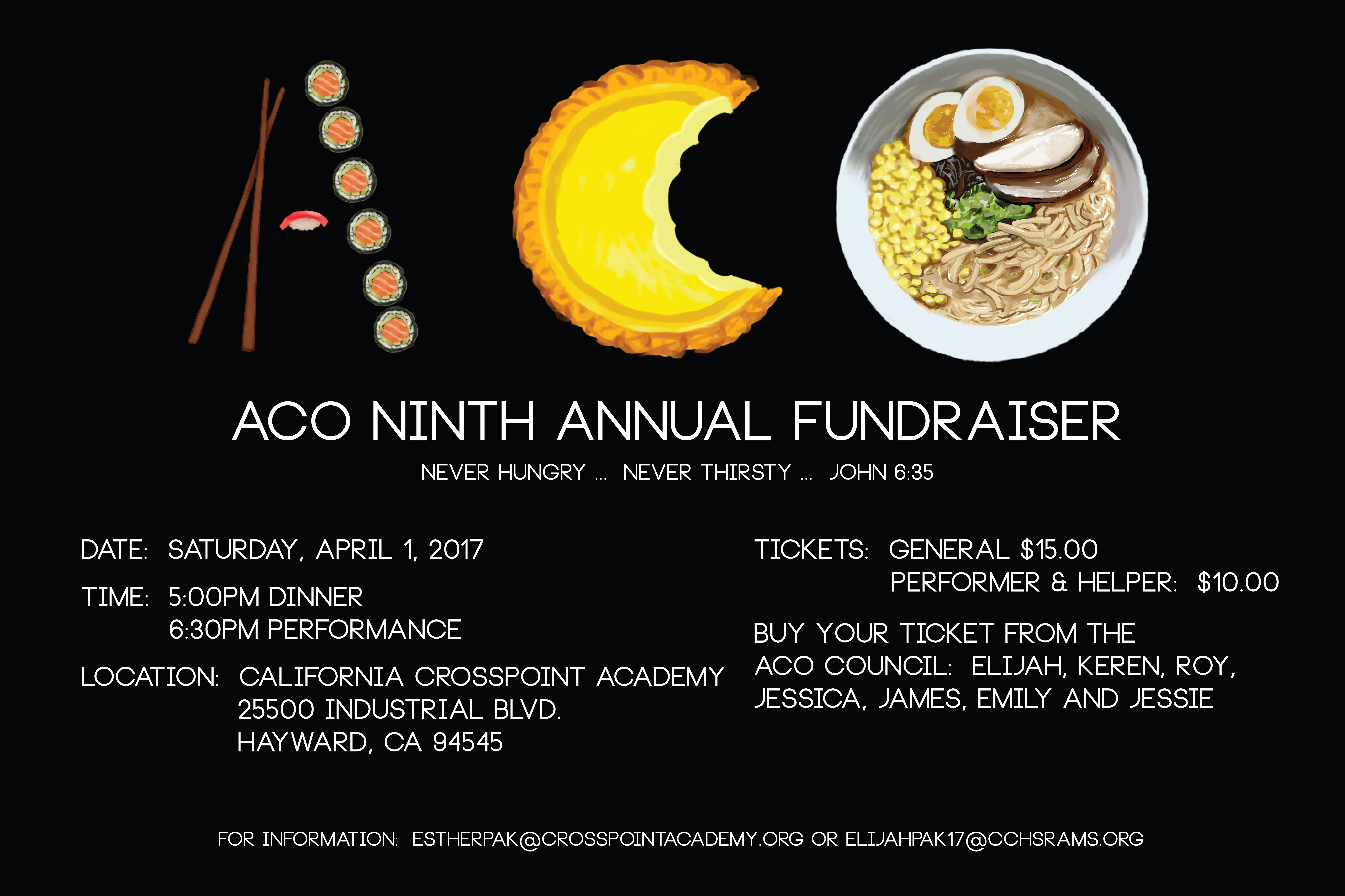 Asian Cultural Organizations's Annual Fundraiser!