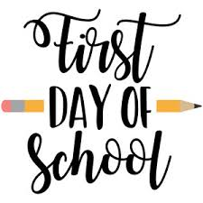 First Days Of School!